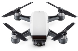 DJI anuncia Spark, un pequeño drone con control por gestos