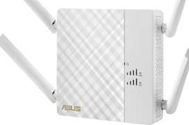 ASUS RP-AC87, repetidor inalámbrico con WiFi 802.11ac de 2.600 Mbps