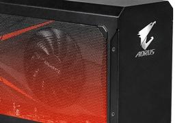 Convierte tu portátil en un sobremesa con la AORUS GTX 1070 Gaming Box