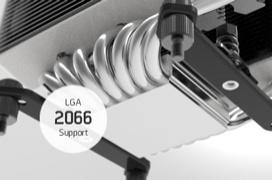 Los disipadores compatibles con el socket LGA2011v3 lo serán con el LGA 2066