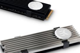 Ya disponibles los disipadores de SSD M.2 NVMe de EK