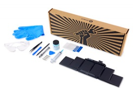 iFixit lanza un kit para sustituir la batería del MacBook Pro Retina