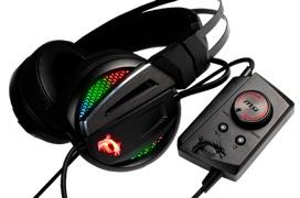Así son los Immerse GH70, los nuevos auriculares gaming con RGB de MSI