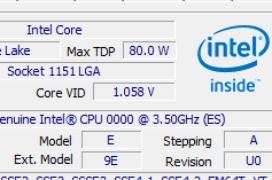 Filtrados tres procesadores Intel Coffee Lake con seis núcleos