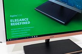 Acer presenta el nuevo Aspire S24, su AIO más delgado