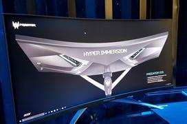ACER Predator X35, monitor curvado con panel ultrapanorámico Quantum Dot de 200Hz y G-SYNC HDR