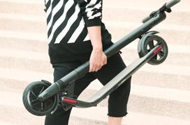 Segway entra en el mercado doméstico con sus patines eléctricos Kickscooter