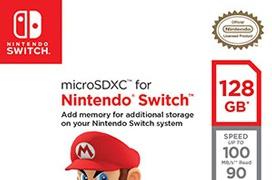 Sandisk prepara tarjetas de memoria microSD certificadas para la Nintendo Switch