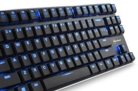 Llega a España el teclado mecánico compacto Sharkoon PureWriter TKL