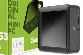 ZOTAC ZBOX MI553, un miniPC compatible con Intel Optane Memory y Thunderbolt 3