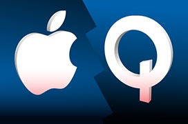 Qualcomm se burla de Apple poco antes del lanzamiento del nuevo iPhone