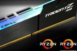 G.Skill crea una edición optimizada para AMD Ryzen de sus Trident Z RGB