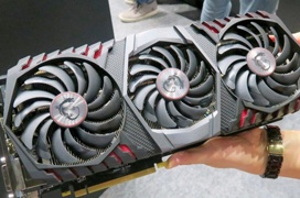 Se deja ver la MSI GeForce GTX 1080 Ti Gaming X Trio