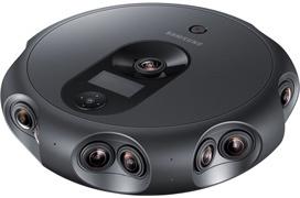 Esta cámara de Samsung tiene 17 lentes para vídeo envolvente