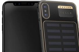 Con esta funda podrás cargar tu iPhone X con energía solar