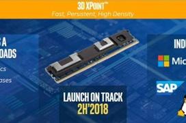 Los módulos DIMM de Intel Optane llegarán en el 2018