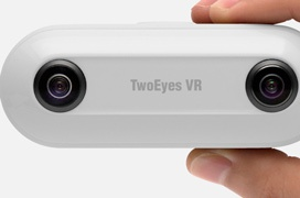 3D y 360 grados se combinan en esta cámara de TwoEyes