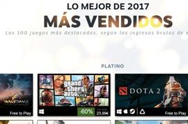 Estos son los juegos más vendidos en Steam durante el 2017