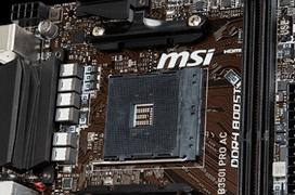 MSI lanza la placa Mini-ITX B350I Pro AC para AMD RYZEN