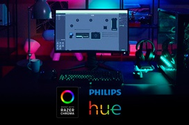 Razer se alía con Philips para sincronizar su sistema de iluminación Hue con Razer Chroma