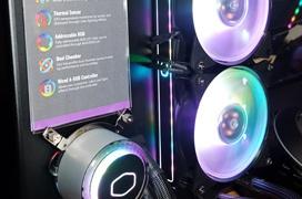 Cooler Master añade monitorización de temperatura RGB as sus disipadores y refrigeraciones líquidas