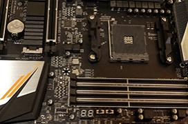 La Gigabyte Gaming 7 Wifi X470  es la primera placa base X470 de AMD