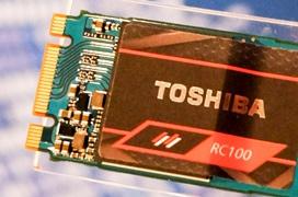 Llegan los Toshiba RC100, rendimiento NVMe a precios de SSD SATA