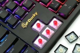 Ducky Blade Air, el primer teclado con los interruptores Cherry MX de perfil bajo