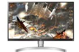 LG 27UK65-W, monitor 4K con FreeSync y