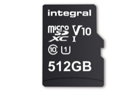 Llega la primera tarjeta micro SD de 512 GB de capacidad
