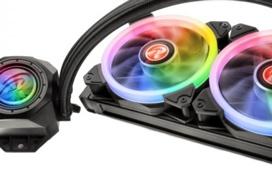 Más RGB en las refrigeraciones líquidas Raijintek Orcus