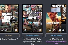 Las sagas GTA, Max Payne y más juegos tirados de precio en el Humble Bundle de Rockstar