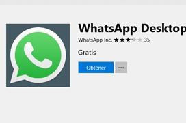 Whatsapp ya está disponible como aplicación de la tienda de Windows 10