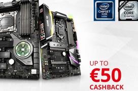 MSI te devuelve hasta 50€ por la compra de sus placas base X299 o Z370