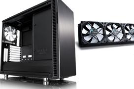 Regalamos una caja Fractal Design R6 y una RL Fractal Design Celsius S36