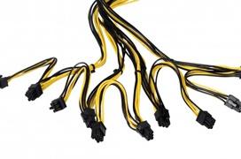 2000 W y 18 conectores PCIe en esta fuente de alimentación de criptominado de Spire