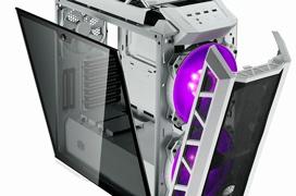 Llega a España la Cooler Master MasterCase H500P Mesh White con frontal mesh y acabado en blanco