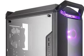 Las compactas cajas Cooler Master MasterBox Q300 son compatibles con fuentes ATX