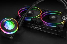 Enermax desvela su refrigeración líquida LiqFusion 240 con RGB en ventiladores y bloque