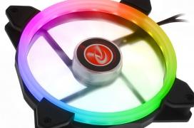 Raijintek añade 21 LEDs RGB a sus ventiladores Iris 14 Rainbow