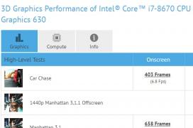 Se filtra el Intel Core i7-8670 con 6 núcleos