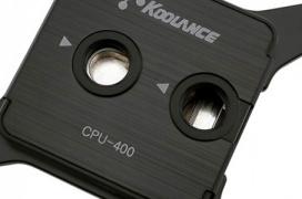 Koolance estrena los bloques CPU-400 Series para sistemas de refrigeración líquida