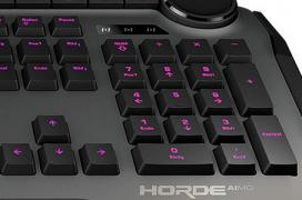 El teclado gaming de membrana ROCCAT Horde AIMO llega con iluminación RGB