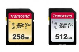 Transcend ofrece nuevas tarjetas de memoria, las 500S y 300S