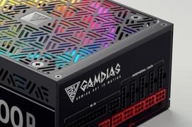 Gamdias entra en el mercado de las fuentes de ordenador con fuentes RGB