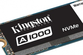 Los nuevos SSD Kingston A1000 NVMe prometen tener precios semejantes a soluciones SATA