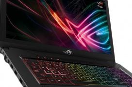 Los portátiles gaming ASUS ROG Strix GL reciben a los procesadores Intel core de 6 núcleos