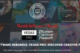 Pack con el Vegas Pro y más software multimedia por 16,15 € en Humble Bundle