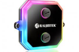 El bloque de refrigeración líquida Raijintek CWB recibe su dosis de RGB configurable