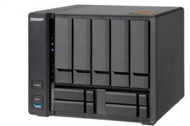 El NAS QNAP TS-963X de 9 bahías está basado en un procesador AMD de 4 núcleos